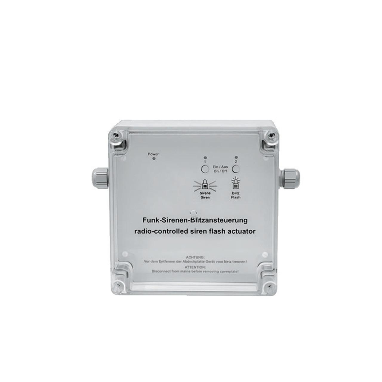 Homematic Funk-Sirenenansteuerung HM-Sec-SFA-SM für Smart Home / Hausautomation