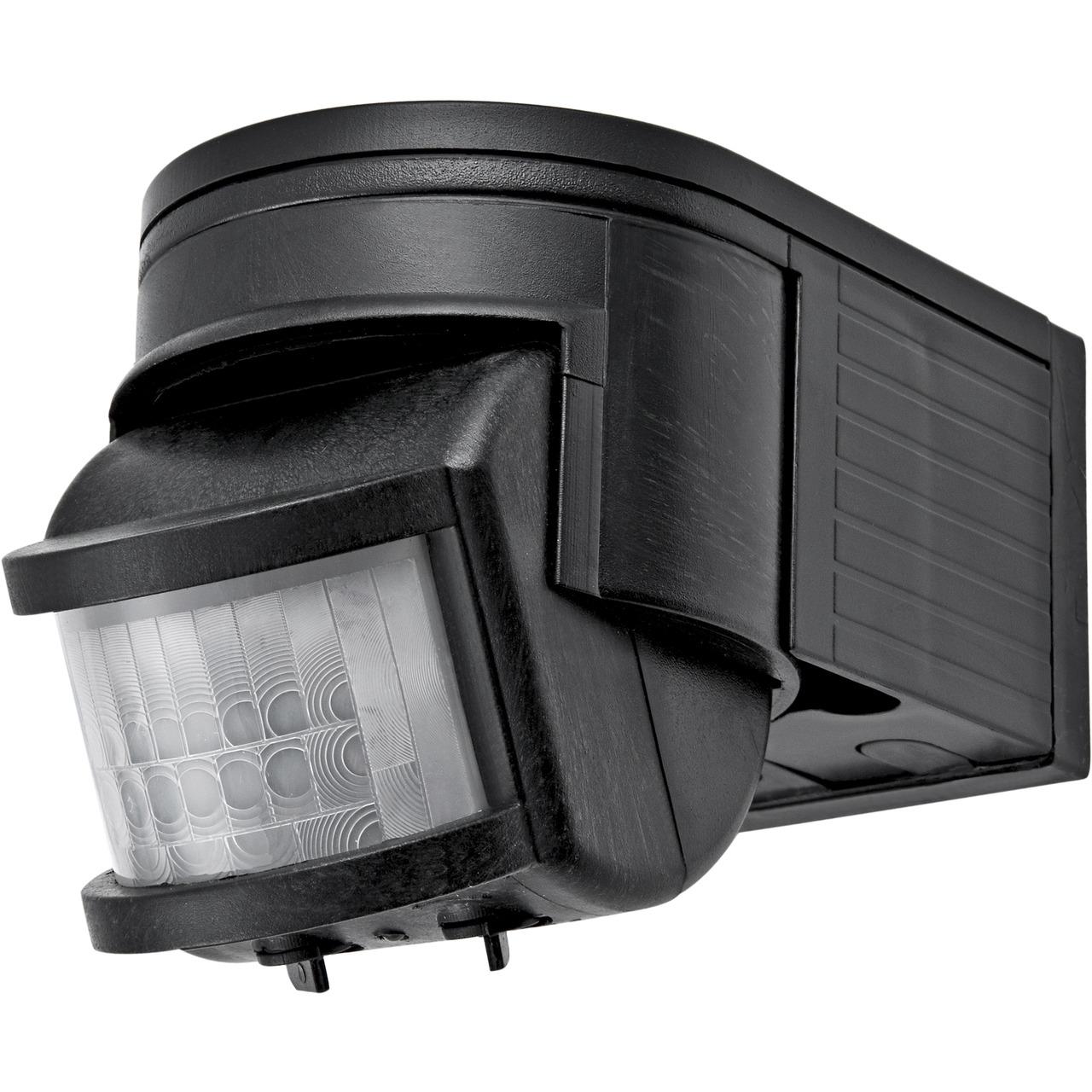 HEITRONIC SALO 180° Bewegungsmelder- schwarz- LED-geeignet