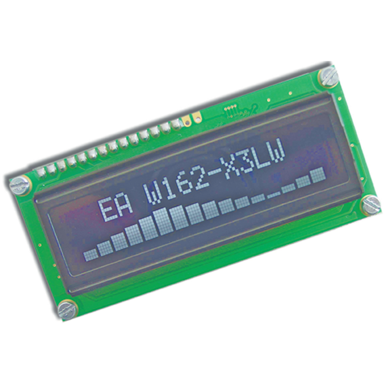 Electronic Assembly OLED-Display EAW162-X3LW 2x16- character 5-5 mm- weiss