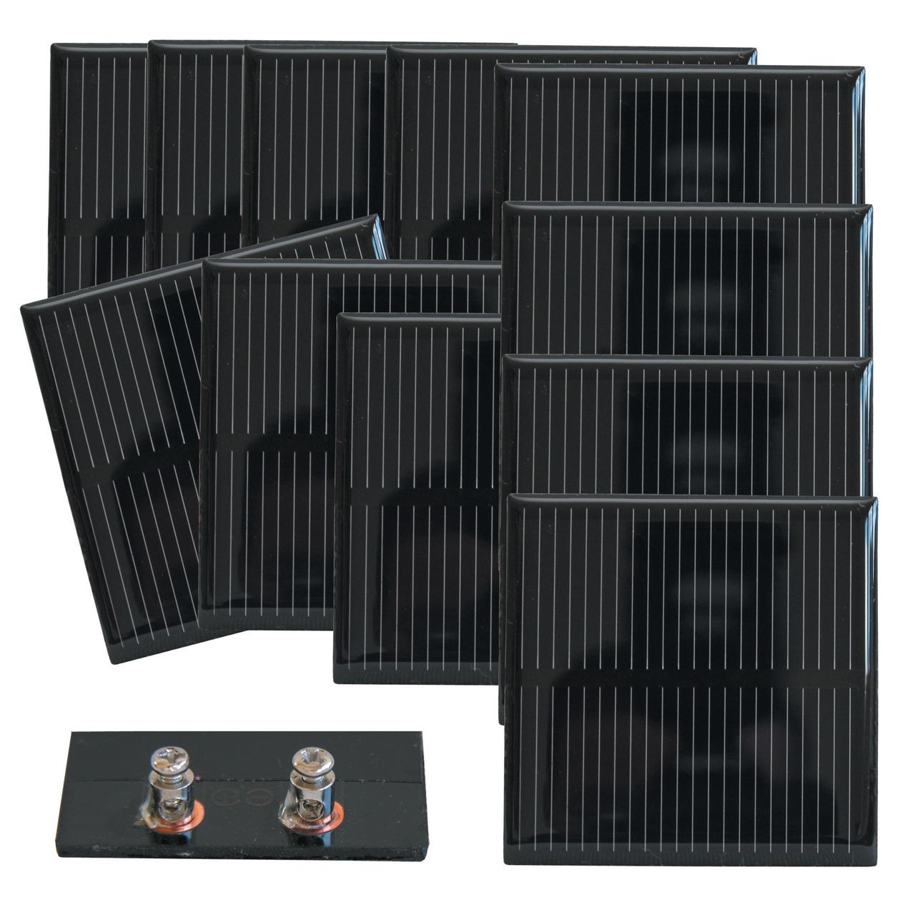 SOL-Expert Solarzelle SM85010S- vergossen- 10er Set