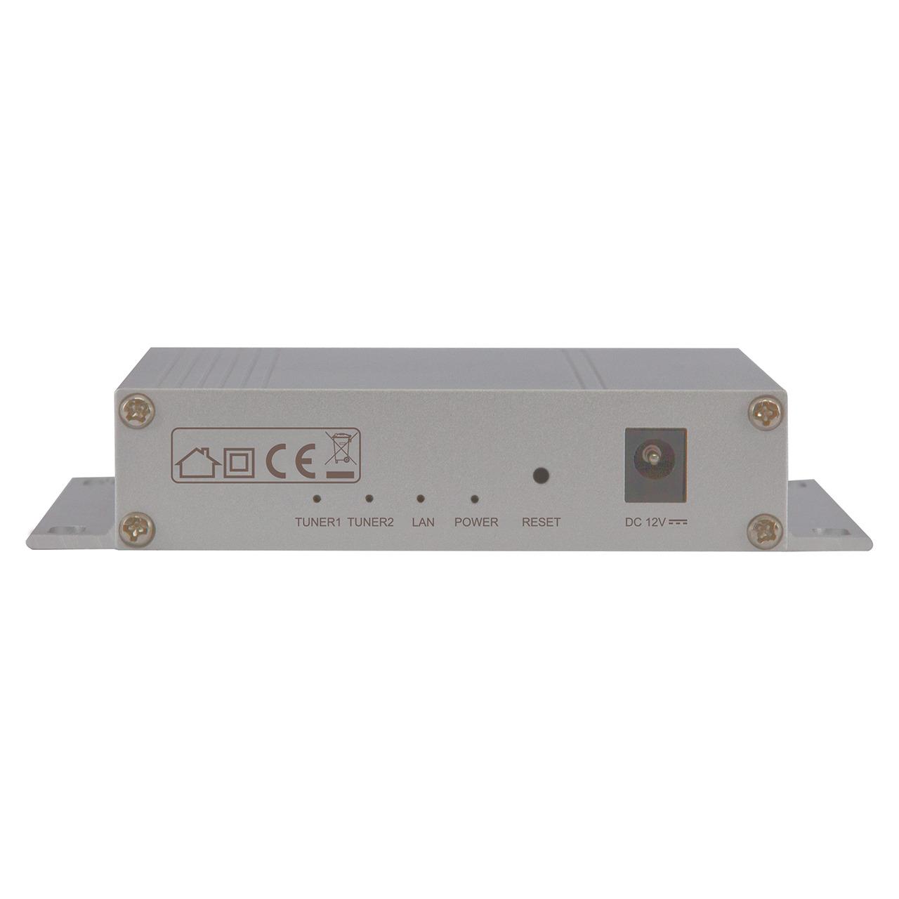 Telestar Sat-to-IP-Router Digibit TWIN für Satellitenempfang- IP-TV für 2 Teilnehmer