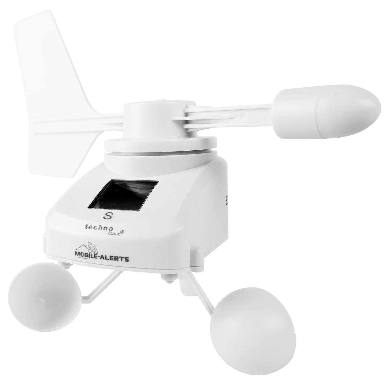 ELV Mobile Alerts Windmesser MA10660PRO- mit Solarpanel