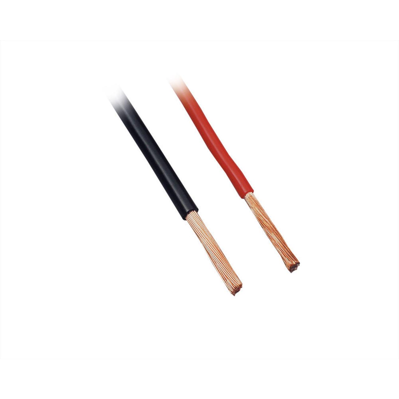 BKL Electronic FLRY Fahrzeugleitung- - 1-70 mm / 2-40 mm² (1 x 1-50 mm²)- schwarz- 25m Ring