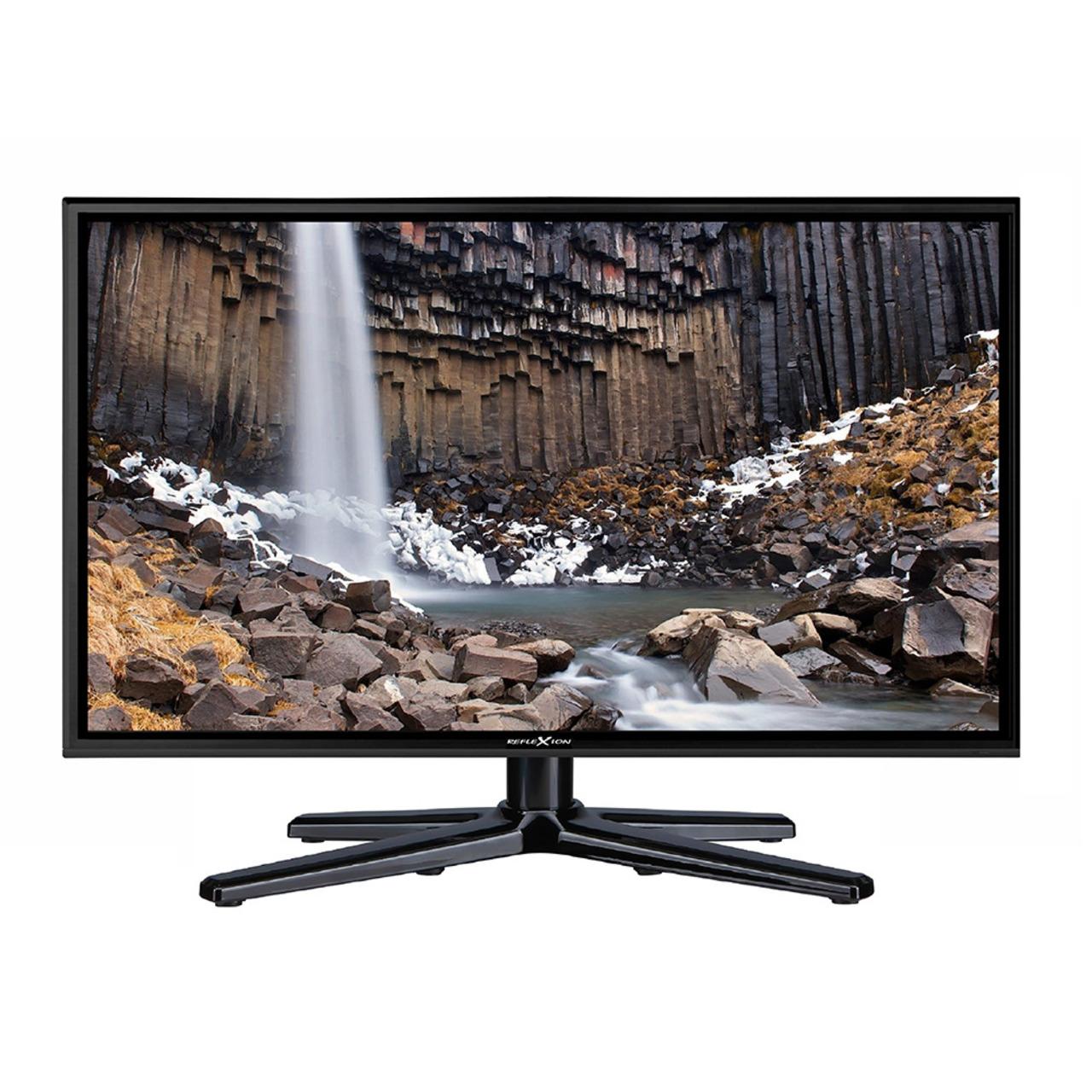 Reflexion 4-in-1-LED-TV LEDW24- 60 cm (23-6)- DVB-S/S2/C/T/T2- H.265/HEVC- 1080p- 12-V-Anschluss