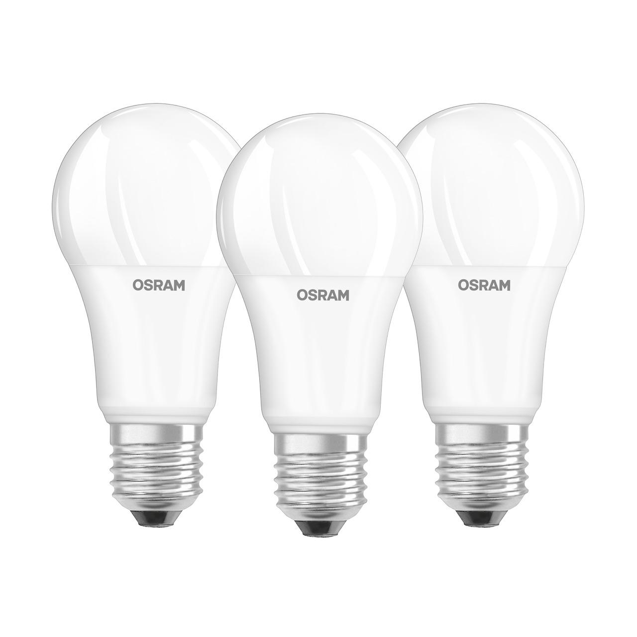OSRAM LED PROMO 3er Set 14-W-Filament-LED-Lampe E27- warmweiss- matt
