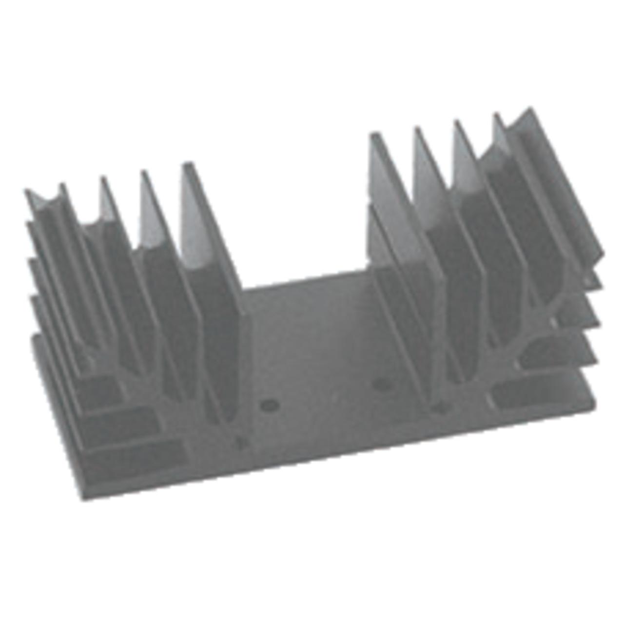 Velleman Kühlkörper mit spezieller Bohrung für VM113 / K8042- 80 x 40 mm