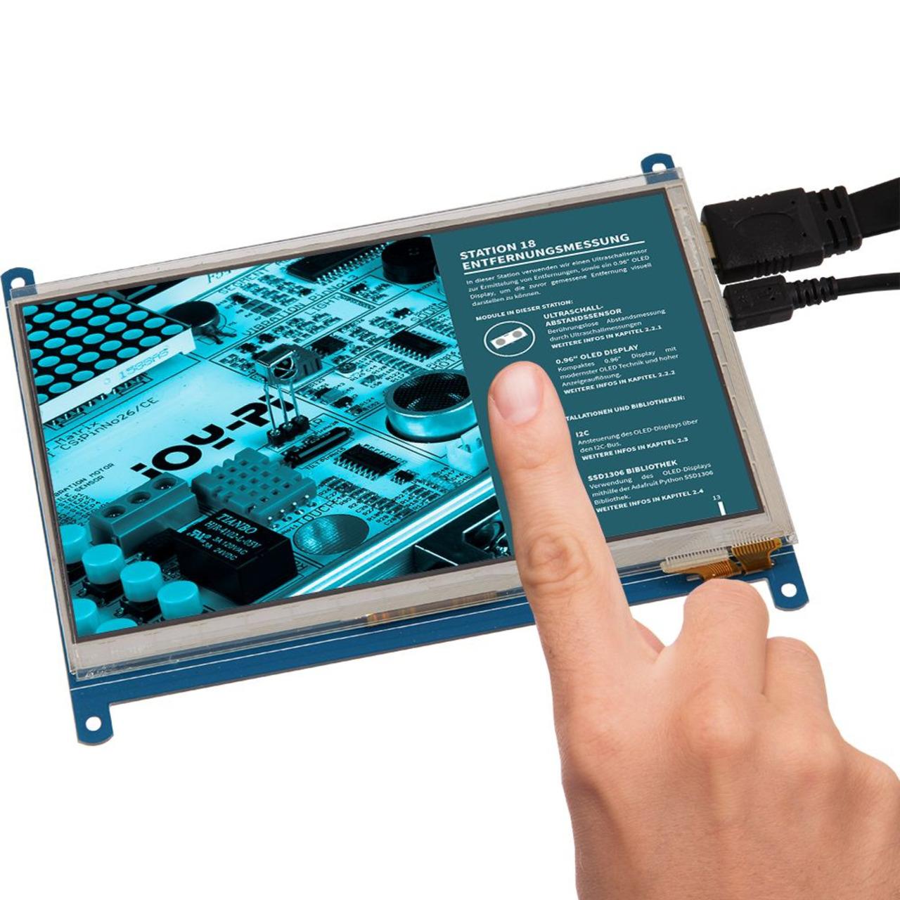 Joy-IT Touch-Display 17-78 (7) für Raspberry Pi