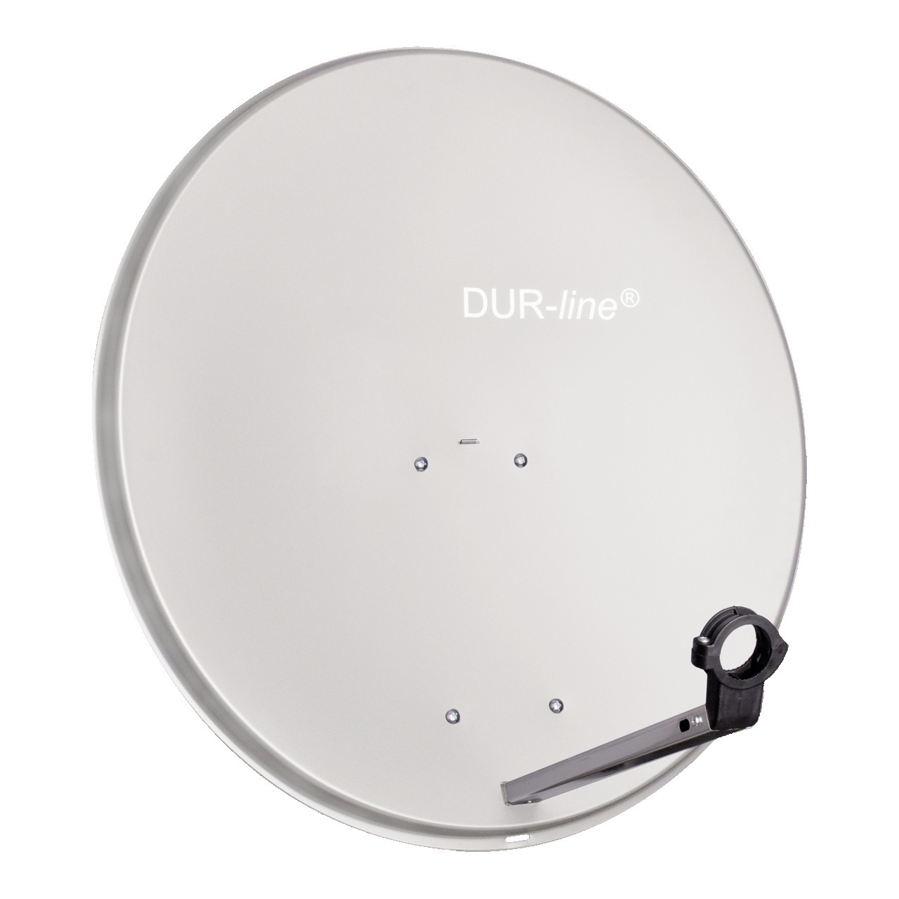 DUR-line Aluminium-Satellitenspiegel MDA 80- hellgrau