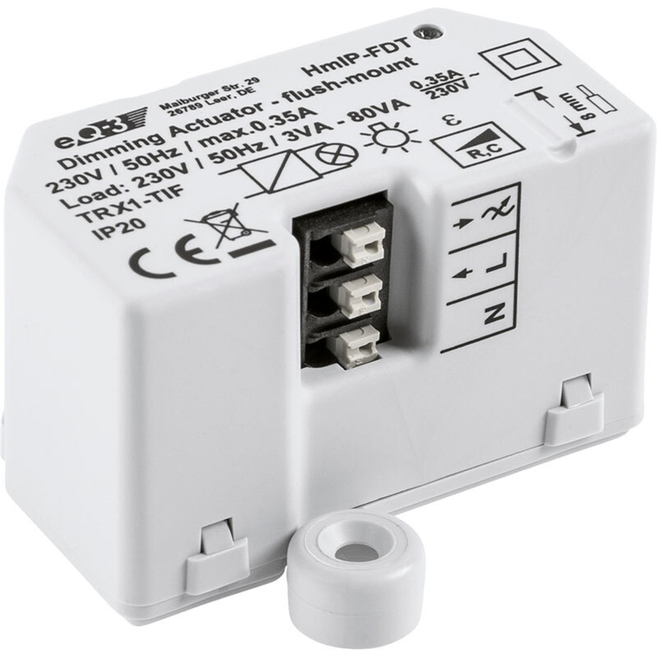 ELV Homematic IP ARR-Bausatz Dimmaktor Unterputz HmIP-FDT- für Smart Home und Hausautomation