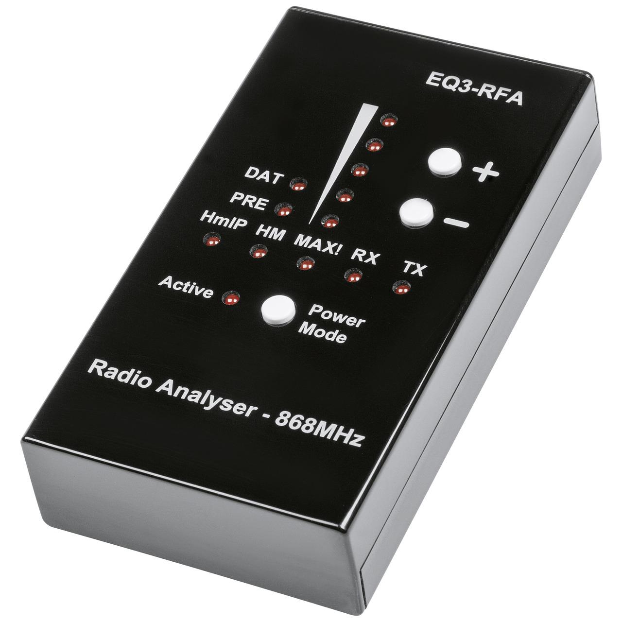 ELV Funk-Analyser EQ3-RFA- 868MHz für Homematic IP- Homematic und MAX!