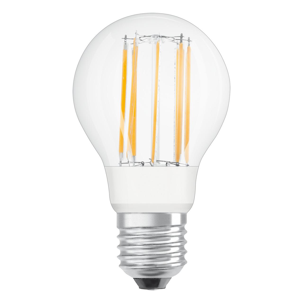 OSRAM LED Superstar 9-W-Filament-LED-Lampe E27- neutralweiss- klar- dimmbar- 1055 lm
