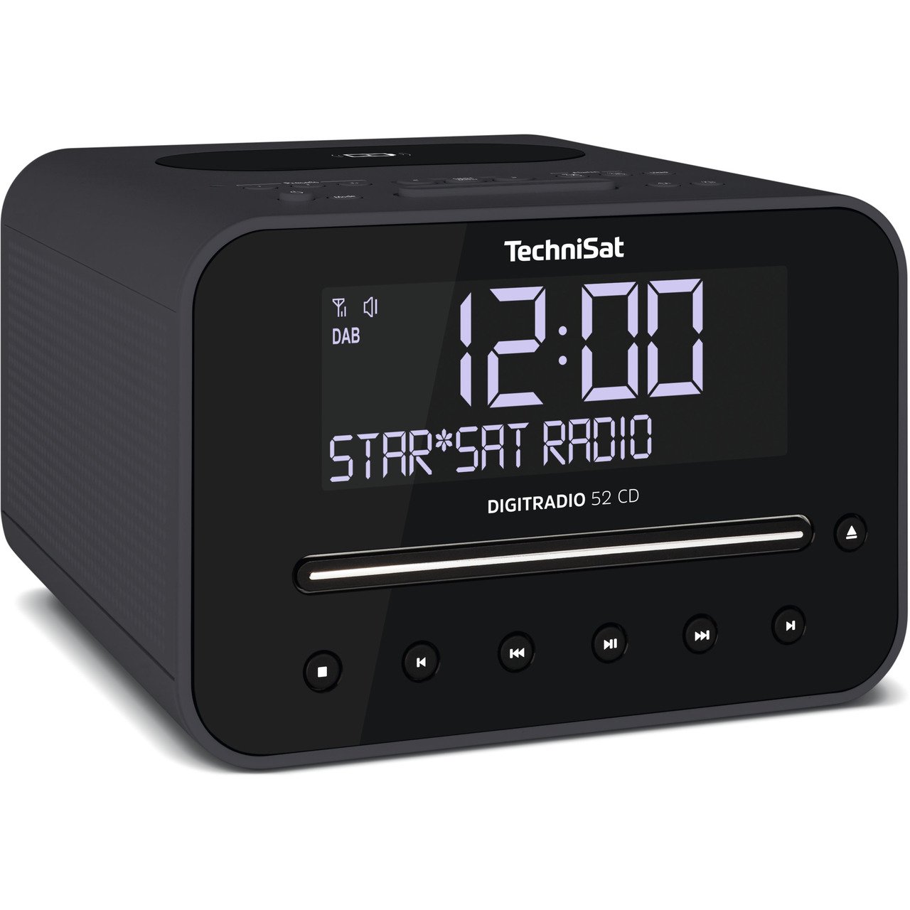 TechniSat DigitRadio 52 CD- mit DAB+/UKW-Empfang- CD-Player und Bluetooth-Funktion