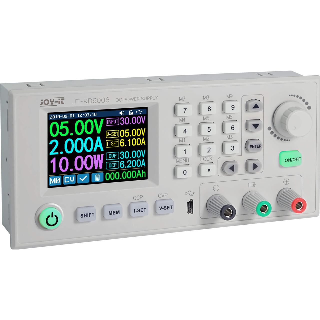 Joy-IT Step-down-Gleichspannungs-Netzteil JT-RD6006- 0-60 V/0-6 A- max. 360 W