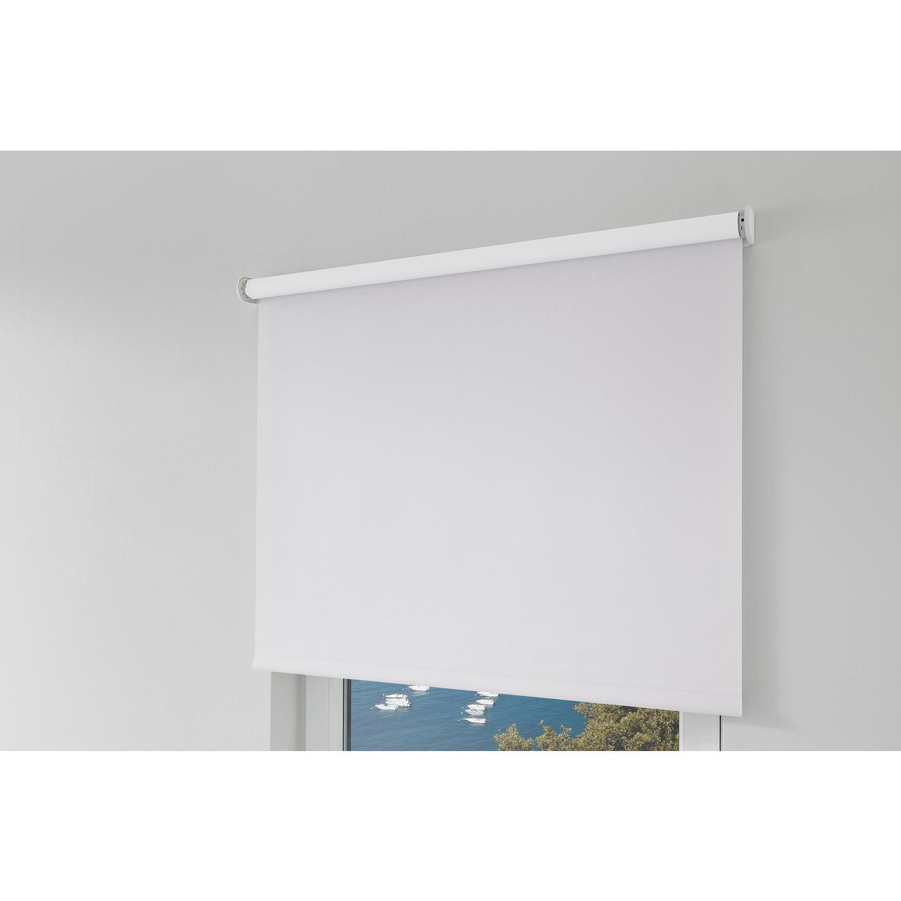 Erfal Smartcontrol Rollo by Homematic IP- 140 x 230 cm (B x H)- blickdicht abdunkelnd weiss