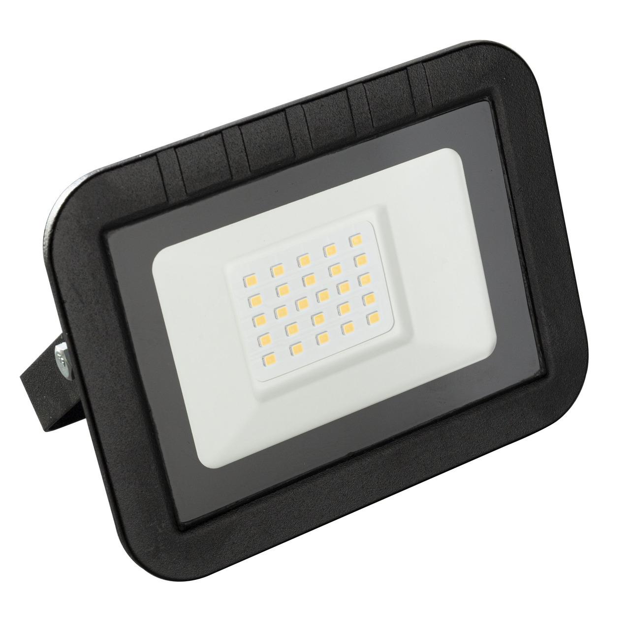 HEITRONIC 20-W-LED-Flutlichtstrahler YORK- 2000 lm- 3000 K- IP65- schwarz