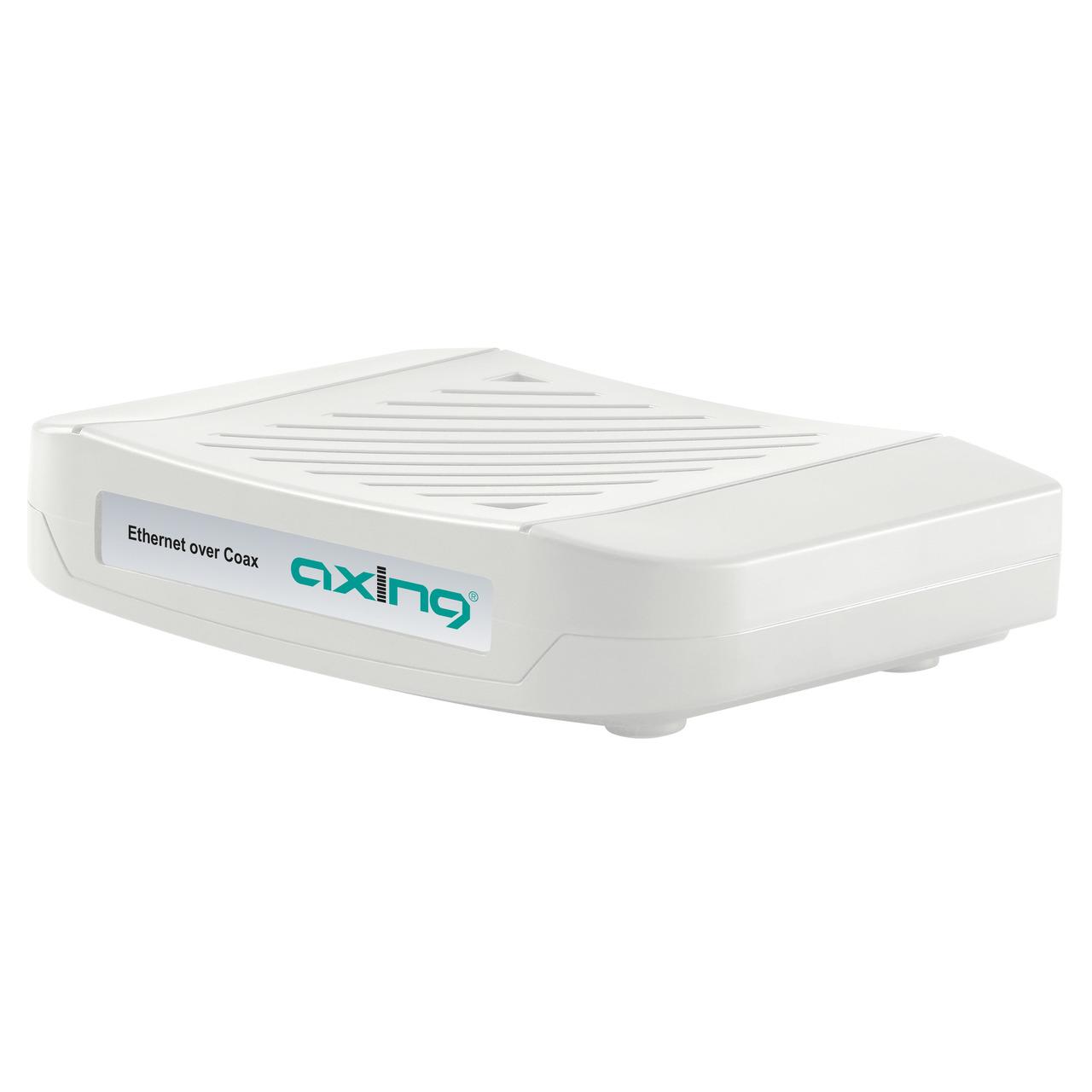 Axing Ethernet-over-Coax Netzwerk-Adapter EoC 1-31- LAN-Verteilung über Koaxkabel