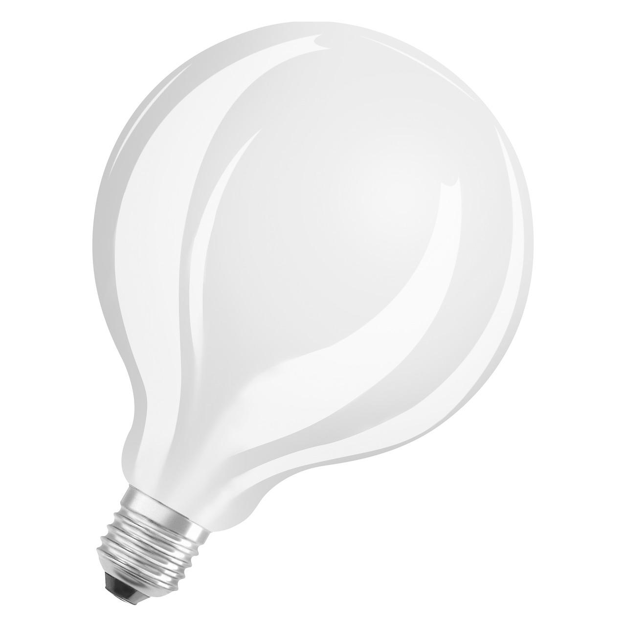 OSRAM 11-W-LED-Lampe G125- E27- 1521 lm- warmweiss- matt