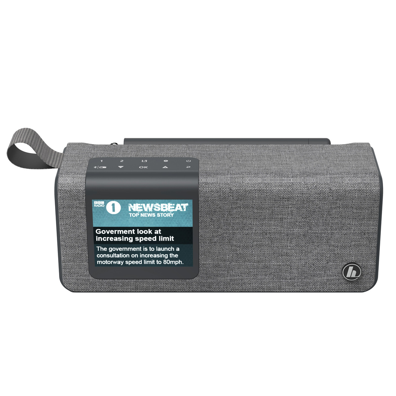 hama Portables Digitalradio DR200BT- UKW/DAB+- Akkubetrieb- Bluetooth-Lautsprecher