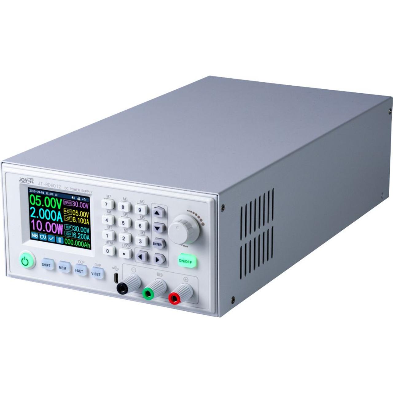 Joy-IT Programmierbares Labornetzteil JT-RD6012 Komplettgerät- 0-60 V/0-12 A- max. 720 W