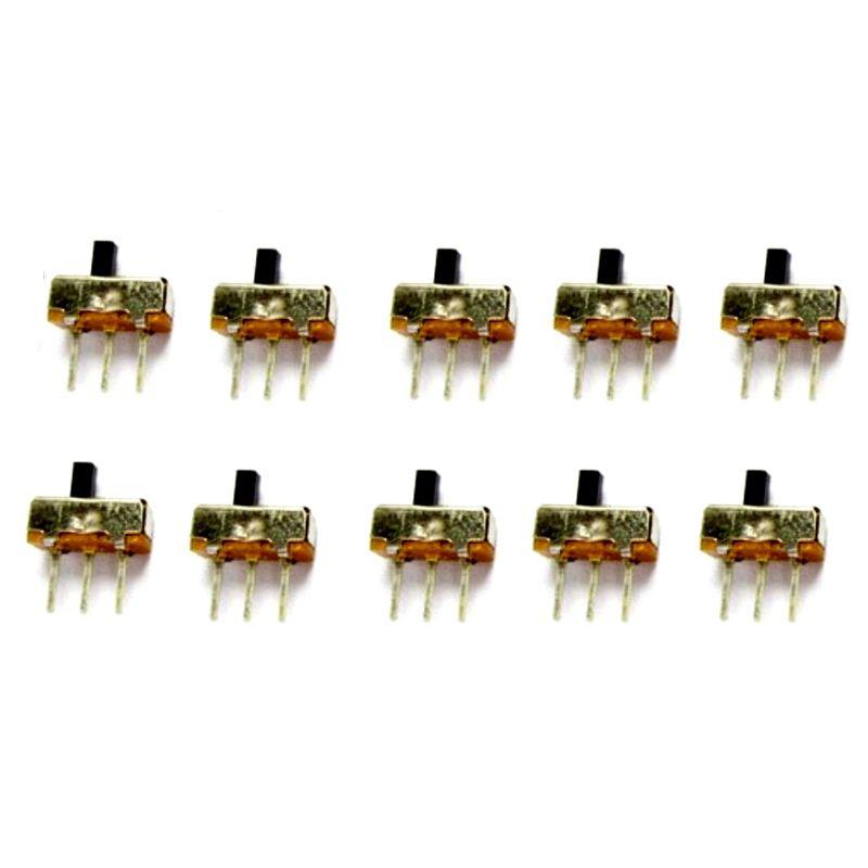 10er Set Schiebeschalter 0-5A 50V DC