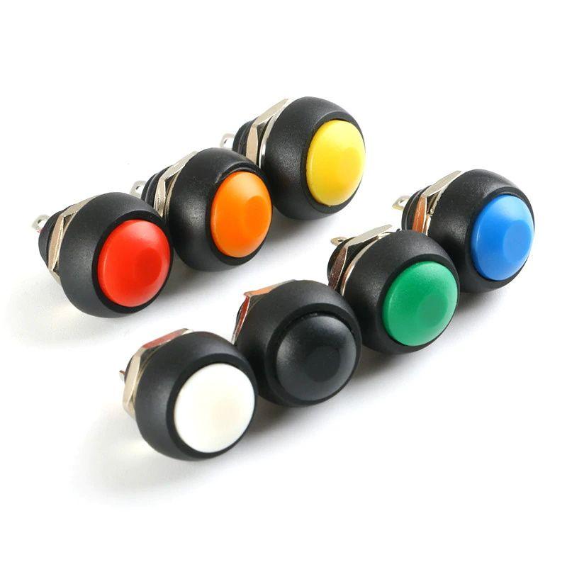 12mm Drucktaster Sortiment 7 Farben