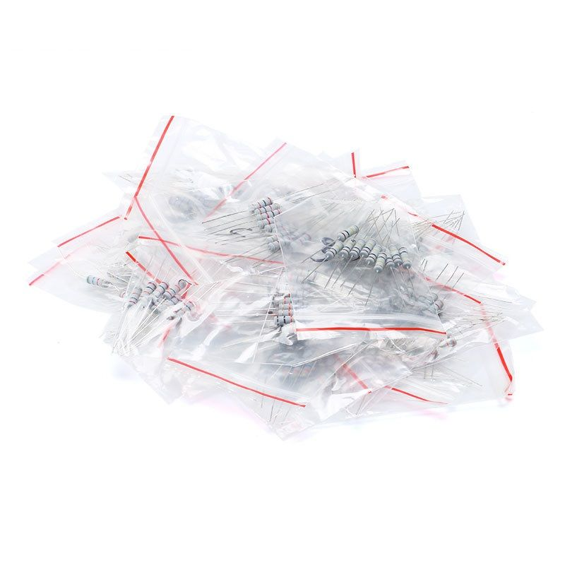 150 Kohleschichtwiderstände im Sortiment 2W 0-1 - 750 Ohm 5-