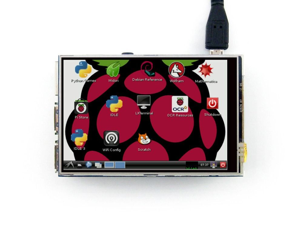 3-5 Plug-and-Play Touch Screen TFT LCD für Raspberry