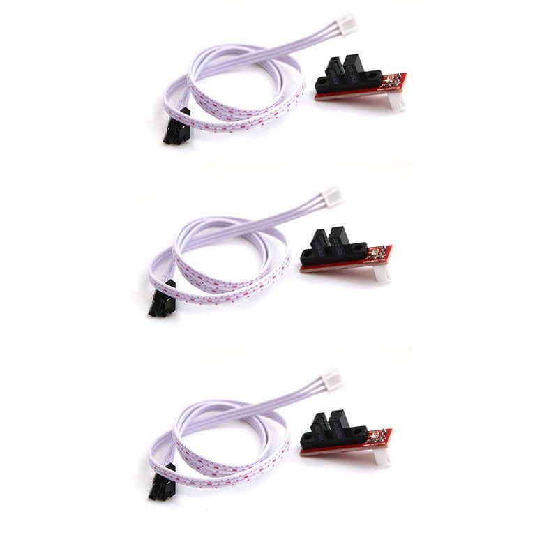 3er Set optischer Endschalter mit Kabelsatz
