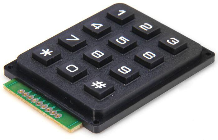 3x4 Keypad Modul für Arduino
