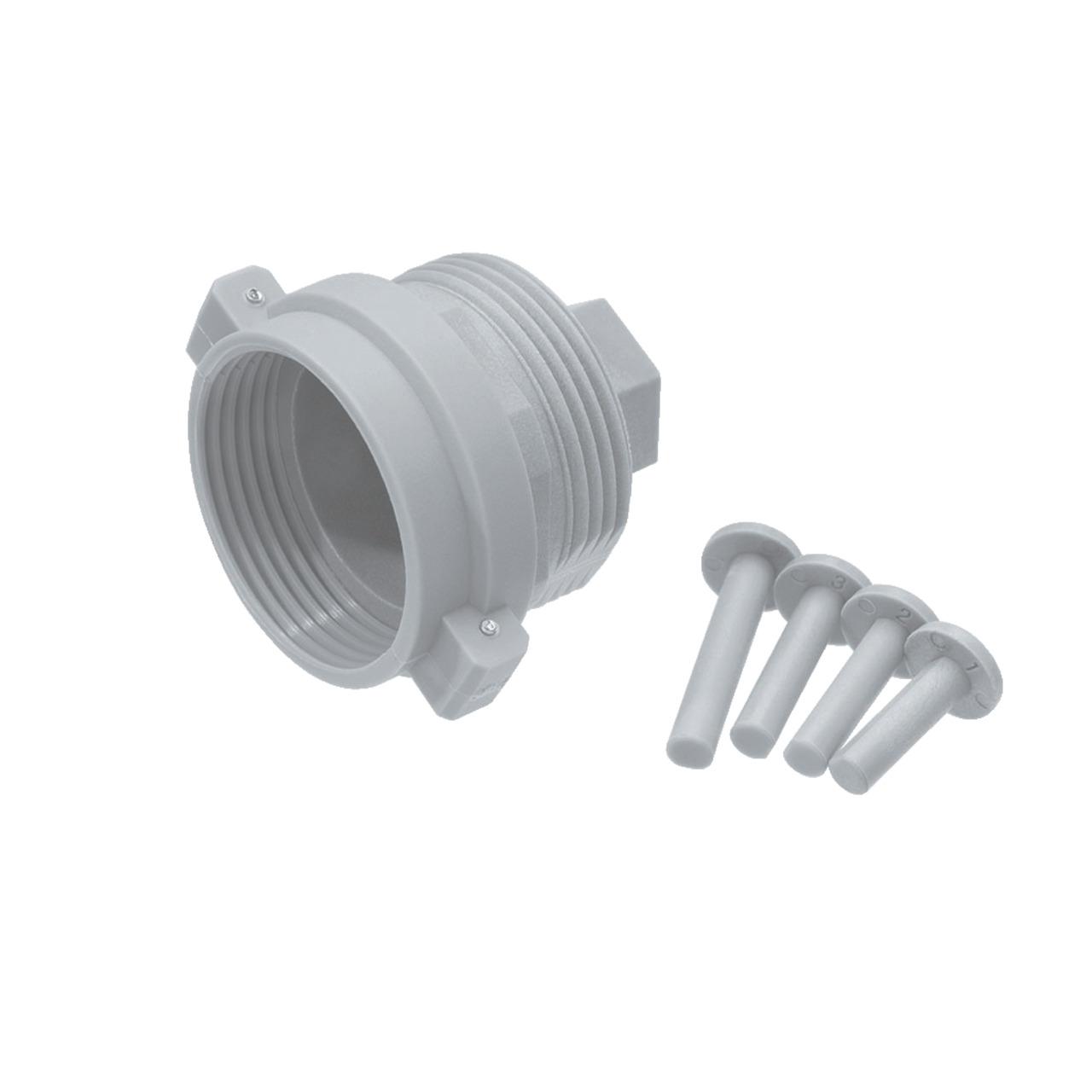 Adapter für Heizungsventil Herz- Comap u- a- M28 x 1-5 mm (Kunststoff)