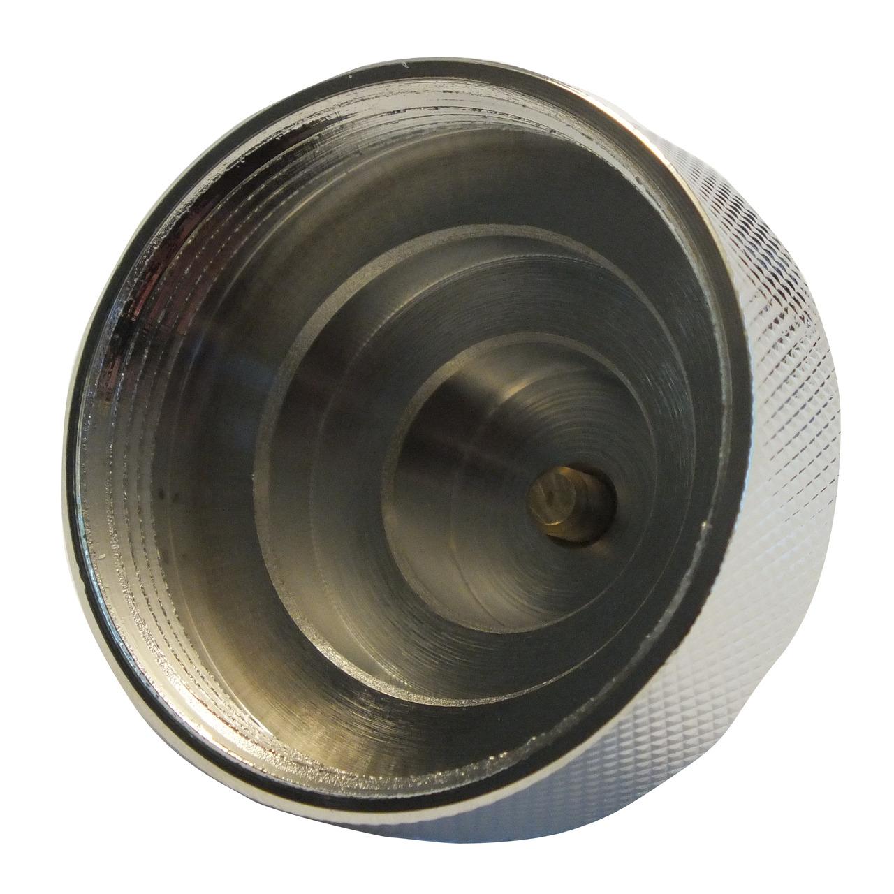 Adapter für Heizungsventil Meges M38 x 1-5 mm (Messing)