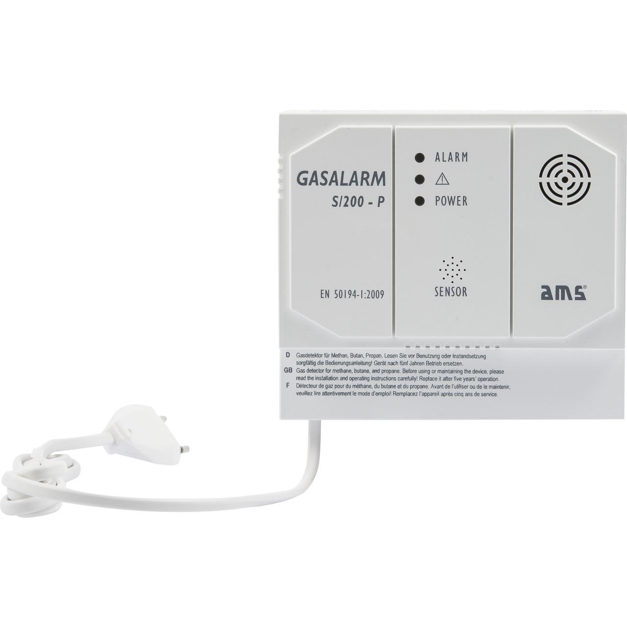 AMS S-200-P Gasmelder mit Schaltkontakt
