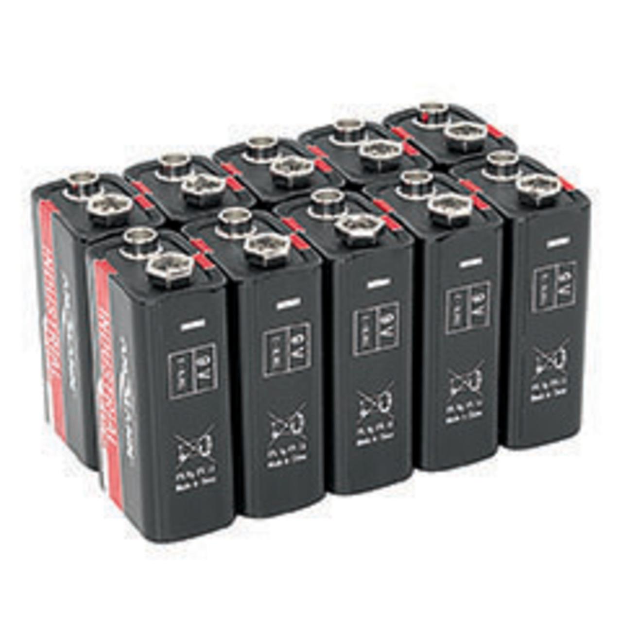 Ansmann Alkaline Batterie 9-V-Block- 10 Stück