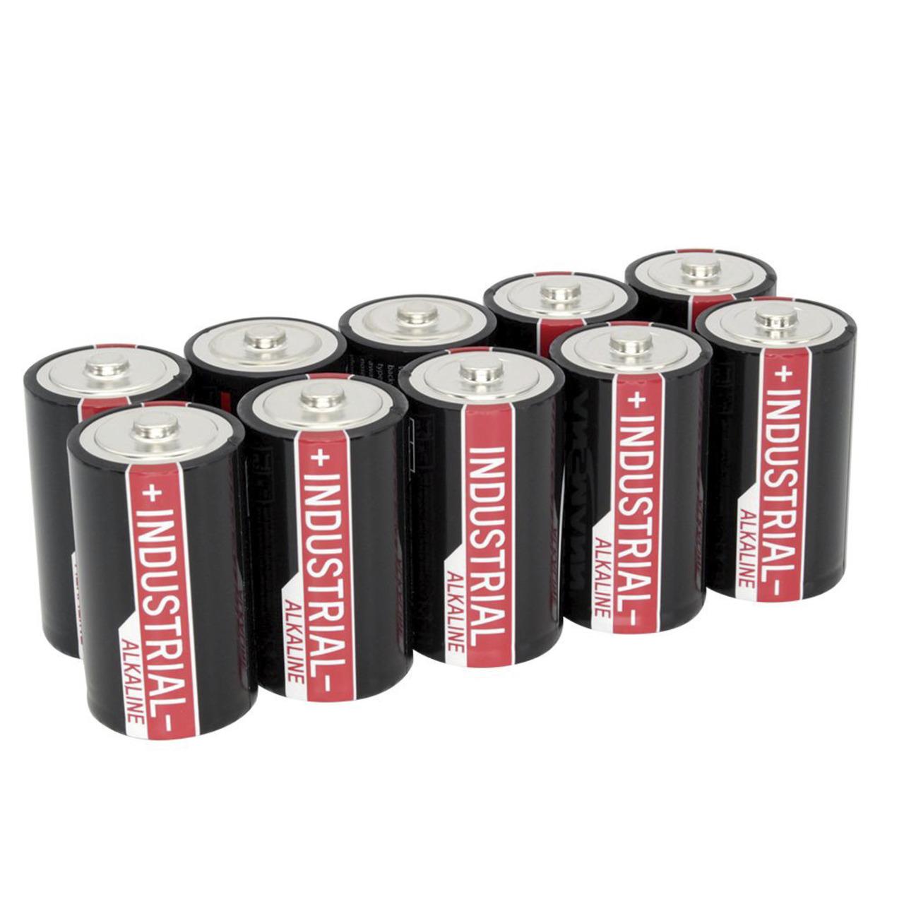 Ansmann Alkaline Mono D- 10er-Pack