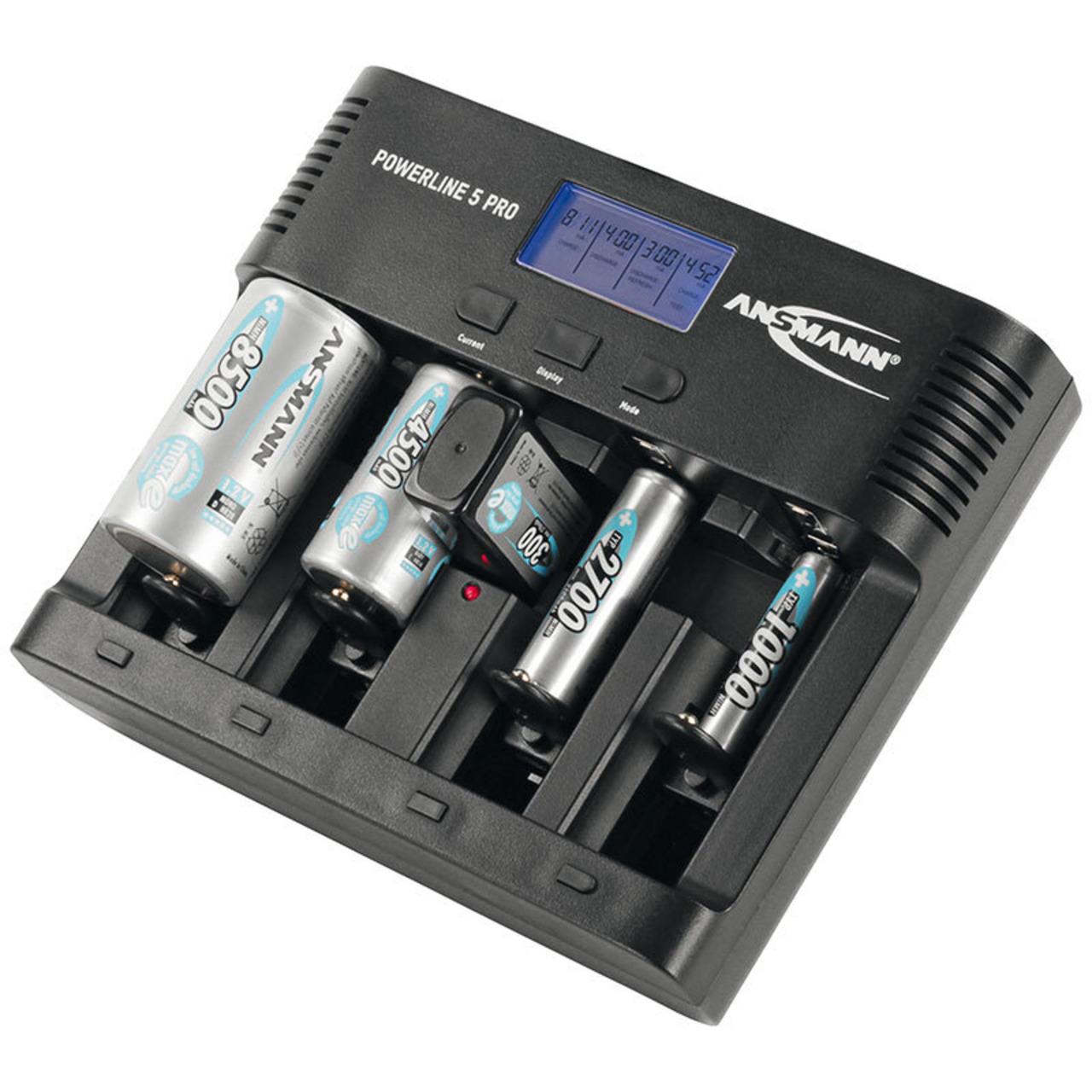 Ansmann Multifunktionsladegerund-228 t Powerline 5 pro mit USB-Ladeausgang