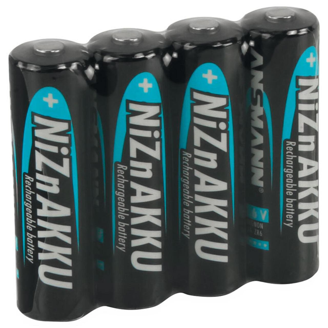 Ansmann NiZn-Akku Mignon 1-6 V 1500 mAh- 4er-Pack