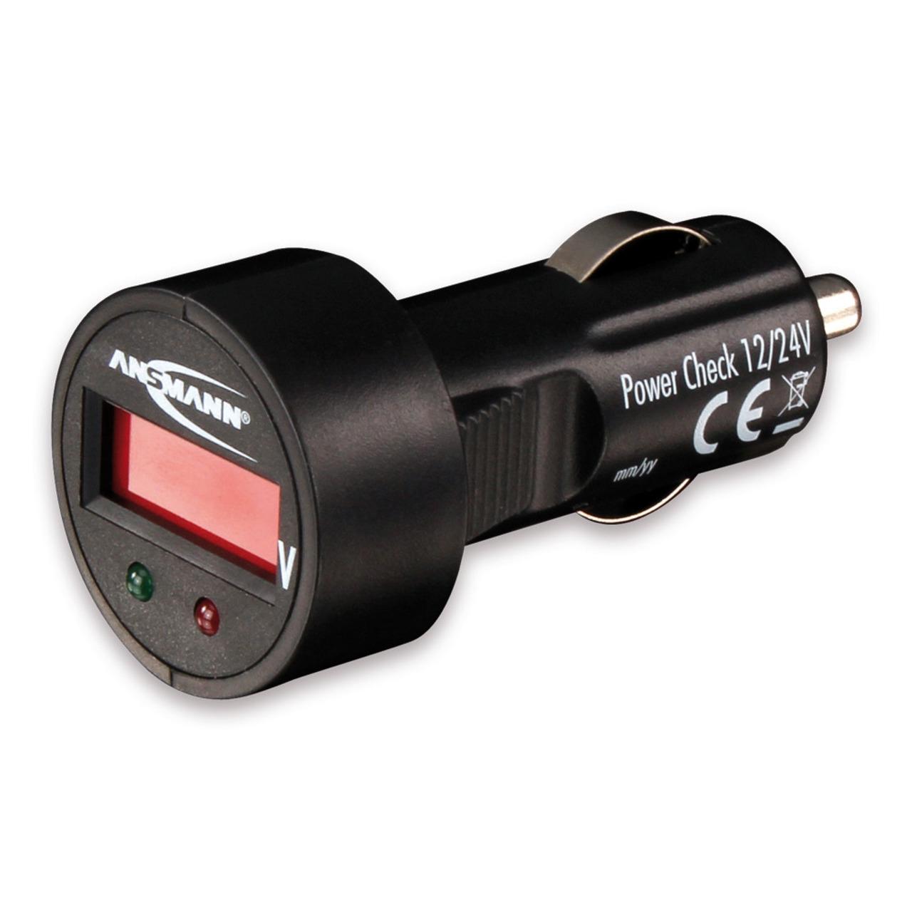 Ansmann Powercheck 12-24 V Batterieund-252 berwachung
