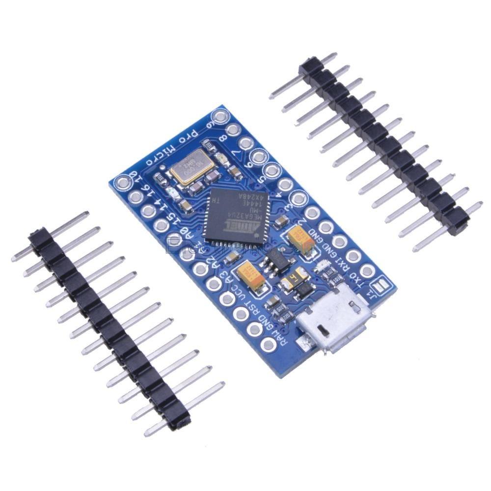 ATmega32u4 Micro Pro 5V 16Mhz mini Leonardo - Arduino kompatibel