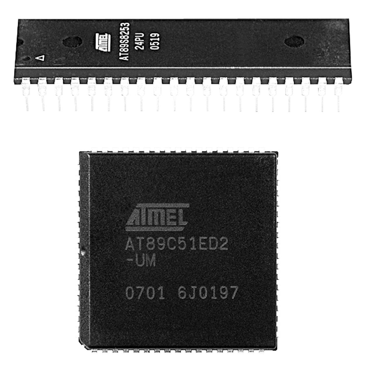 Atmel Mikrocontroller AT89C51CC03CA-SL- PLCC44