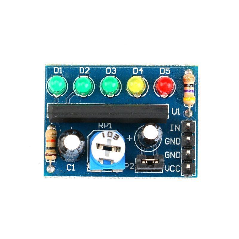 Audio-Spannung-Batterie Indikator KA2284 3-5V-12V AC DC