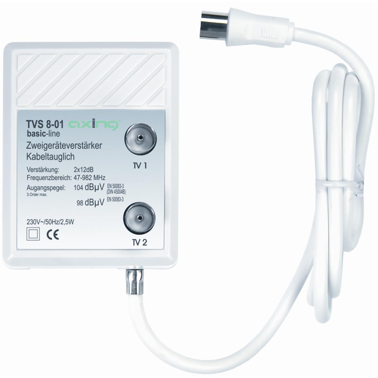 Axing Zweigeräteverstärker TVS 8-01