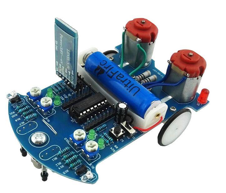 Bausatz: D2-6 Bluetooth Roboter