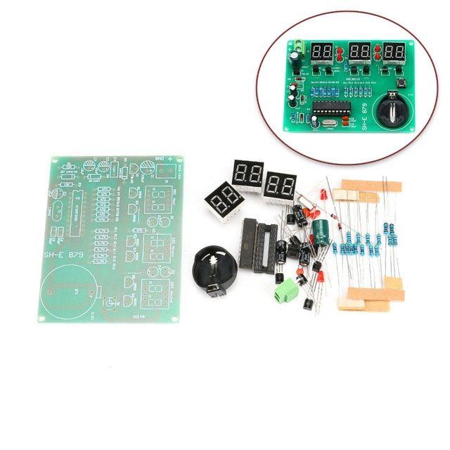 Bausatz: Digitale Uhr mit at89c2051 Chip (neue Version)