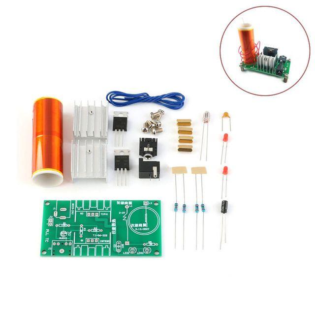 Bausatz: Mini Tesla Spule Lautsprecher Transformator 15-24V 15W