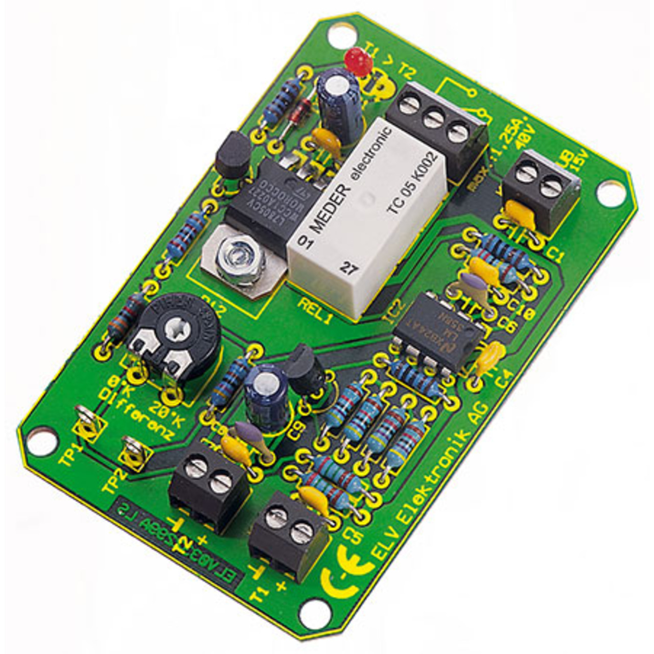 Bausatz Temperaturdifferenz-Schalter TDS1
