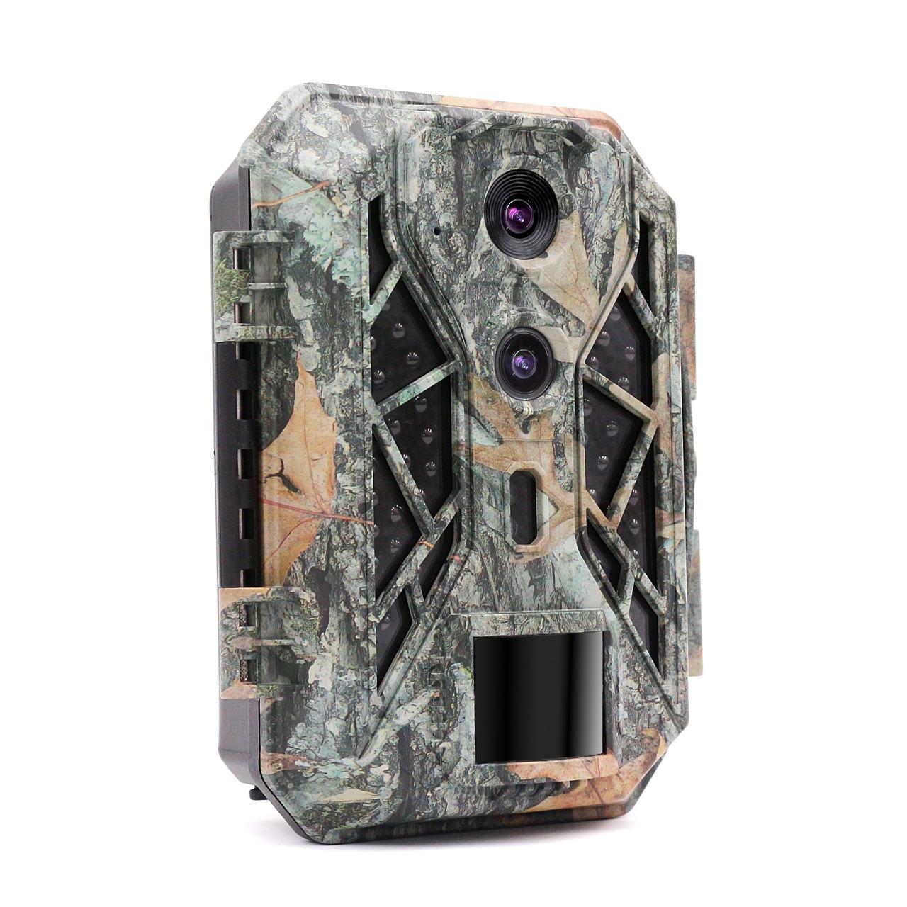 Braun Fotofalle - Wildkamera Scouting Cam BLACK820- mit Dual-CMOS-Sensor
