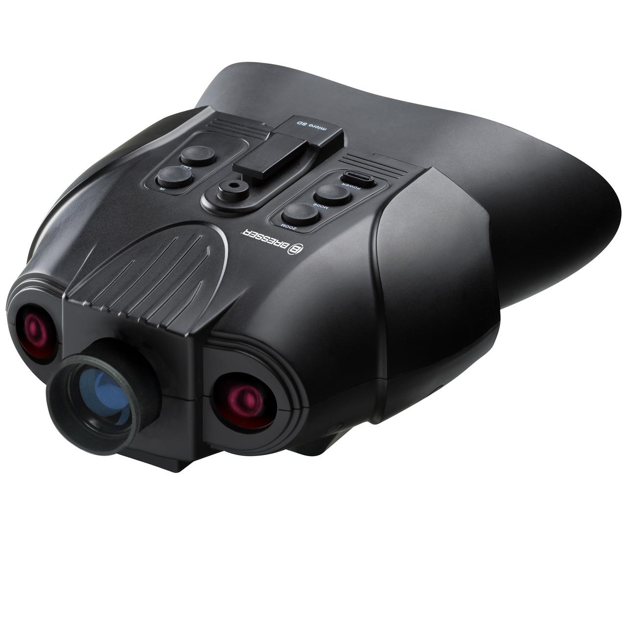 Bresser Digitales Nachtsichtgerät- binokular- 3-fache Vergrösserung- mit Aufnahmefunktion