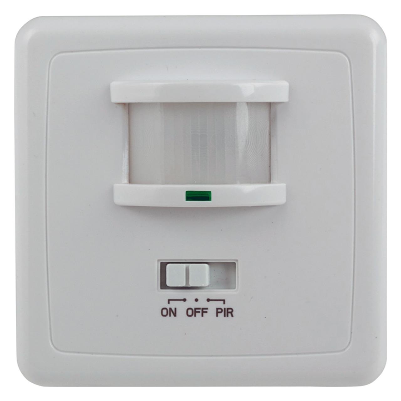 ChiliTec Unterputz-Bewegungsmelder- 3-Draht-Technik- LED geeignet- IP20