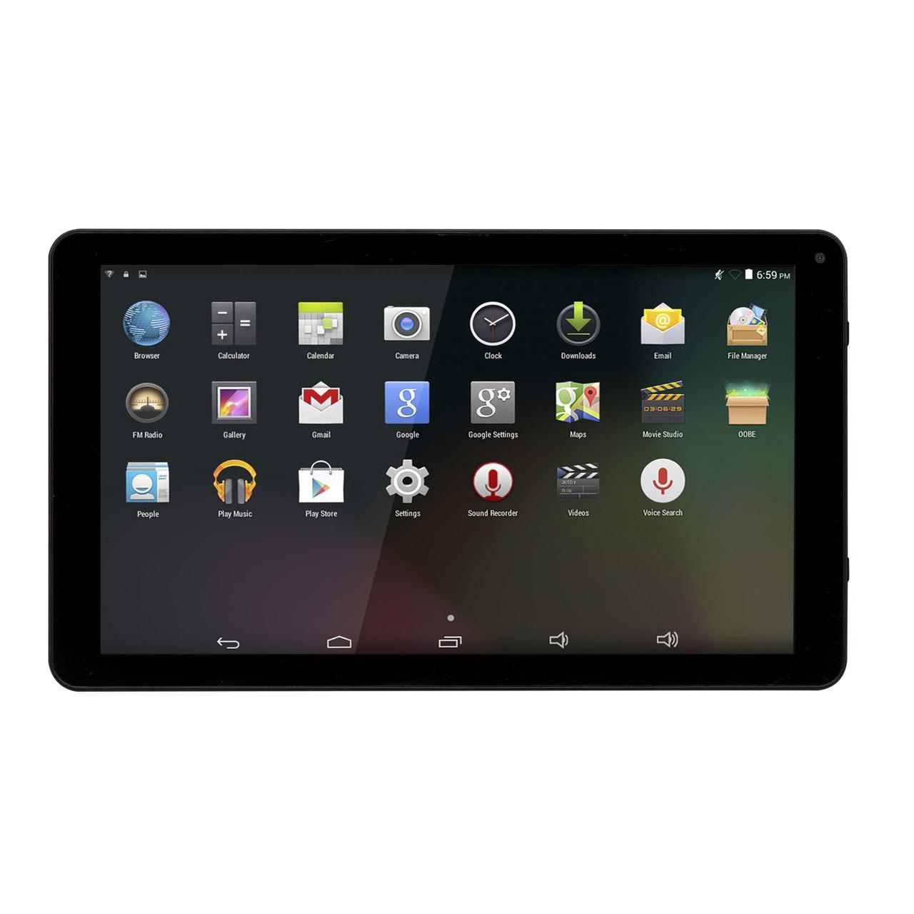 Denver Tablet TAQ-10283- 25-65-cm-Display (10-1)- 1024x600p- 1-2 GHz Quad-Core CPU- Android 8-1