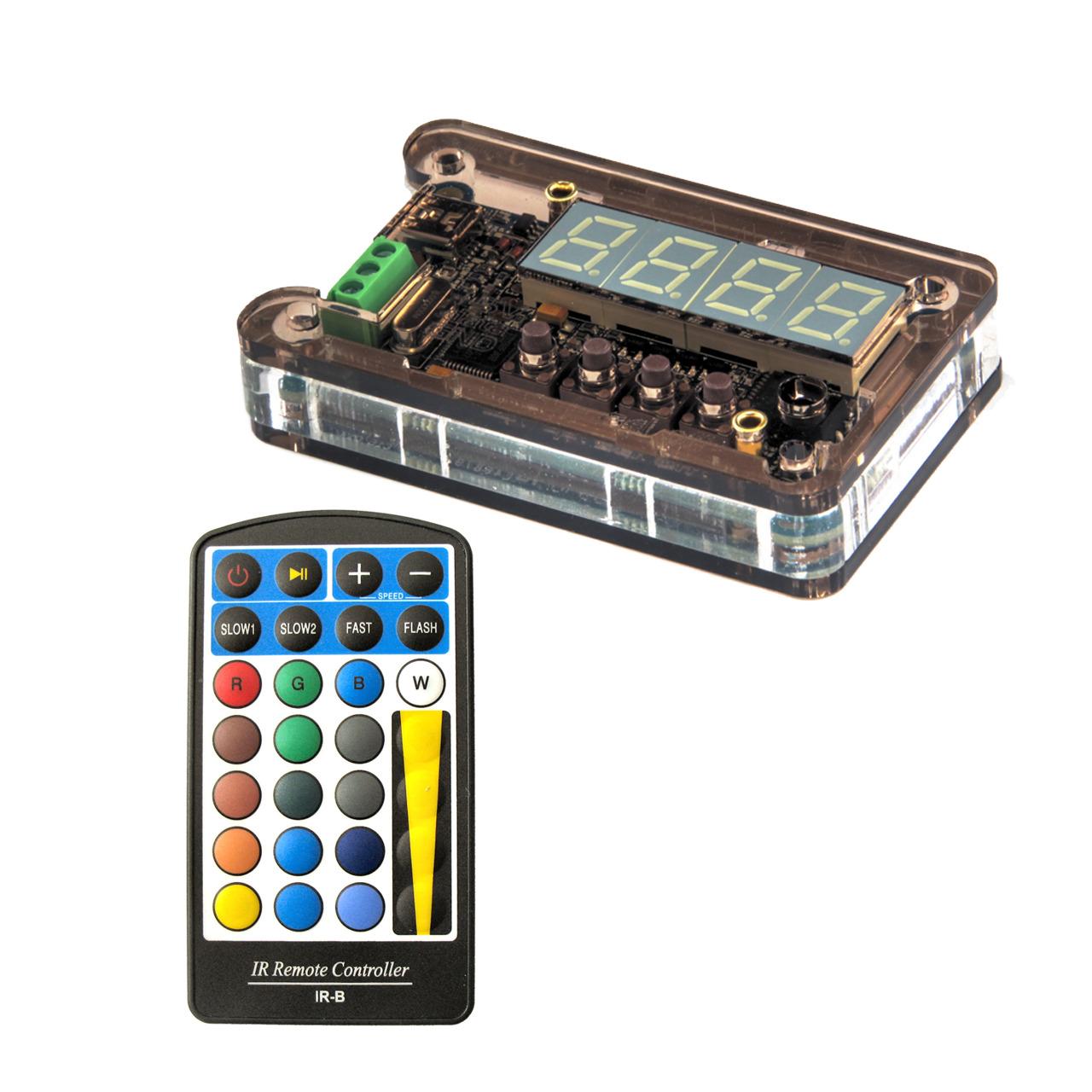 Diamex LED-Player T für WS2812-LEDs- inkl- Fernbedienung